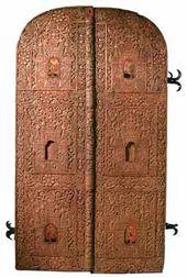 The Royal Doors. 17th century, Ryazan