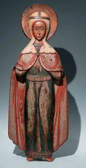"The Great Martyr Paraskeva, named ""Friday"" (Pyatnitsa). Late 17th – early 18th century"