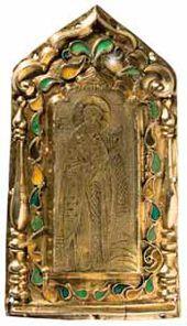 Drobnitsa 'St. Nicholas.' Russia. 19th century