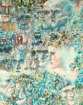 Heads. Symphony by Shostakovich. 1927