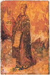 Saint Catherine. Icon. 1908–1910