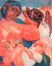 The Adoration of the Magi. 1913