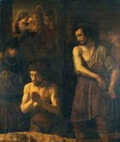 Rembrandt School. The Beheading of John the Baptist