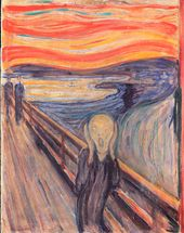 Edvard MUNCH. The Scream. 1893