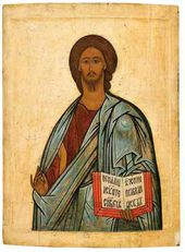 Christ the Almighty. Period unknown. Novgorod school