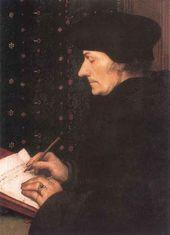 Portrait of Erasmus of Rotterdam. 1523