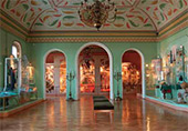Vladimir City Museum (Vladimir and Suzdal Museum and Reserve). Exhibition on the history of the Vladimir region