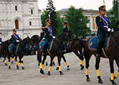 Museum Day Celebration on the Cathedral Square of the Moscow Kremlin