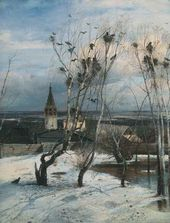 Alexei SAVRASOV. The Rooks Have Arrived. 1871