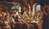 Konstantin MAKOVSKY. A Boyar Wedding Feast. 1883