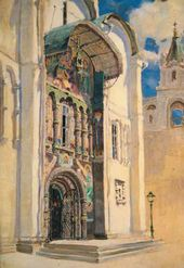 Vasily POLENOV. Cathedral of the Dormition. South Gate. 1877