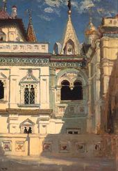 Vasily POLENOV. Terem Palace Exterior. 1877
