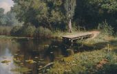 Vasily POLENOV. Overgrown Pond. 1879