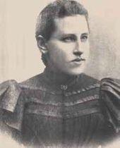 Yevdokiya Lvovna Alexeeva – Yekaterina Belashova's mother. Photograph, 1912