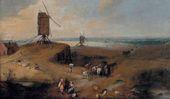 Joos de MOMPER. Windmill Landscape in Flanders