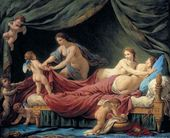 Jean Jacques LAGRENEE, the Younger. The Three Graces