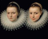 Frans POURBUS, the Younger. Two sisters