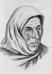 Gazi-Magomed DOURBEKOV. Women's portrait