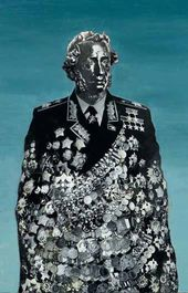 Boris ORLOV. National Totem. Alexander Pushkin in Marshal's Uniform. 1982