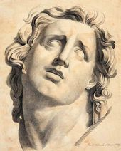 Head of a Son from the Laocoon Group. 1832