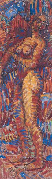 Nude (Striped). 1915