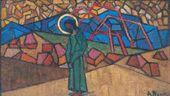 Christ in the Wilderness. 1914