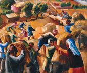 Mountain Harvest (Reaping the Corn). 1932