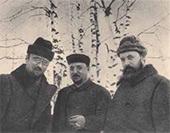 Igor Grabar, Mikhail and Nikolai Meshcherin. Dugino. 1900s