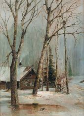 Alexei SAVRASOV. Cottage in the Woods