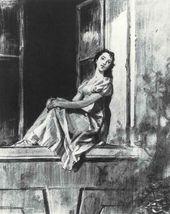 Natasha in Otradnoye. 1952–1953