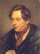 О.А. КИПРЕНСКИЙ. Порmреm Пеmра Басина. 1829