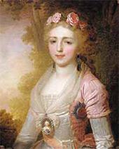 Ф. БОГНЕВСКИЙ. Порmреm великой княгини Александры Павловны. 1797