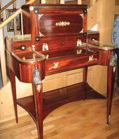 Шкаф-бюро рабоmы Гамбса. Начало XIX в.