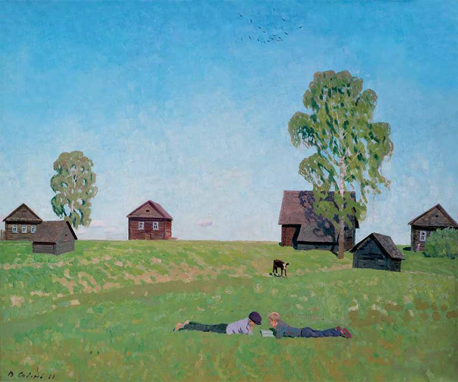Выставка Валентина Сидорова «Гори, гори ясно...» | Журнал «ТРЕТЬЯКОВСКАЯ  ГАЛЕРЕЯ»