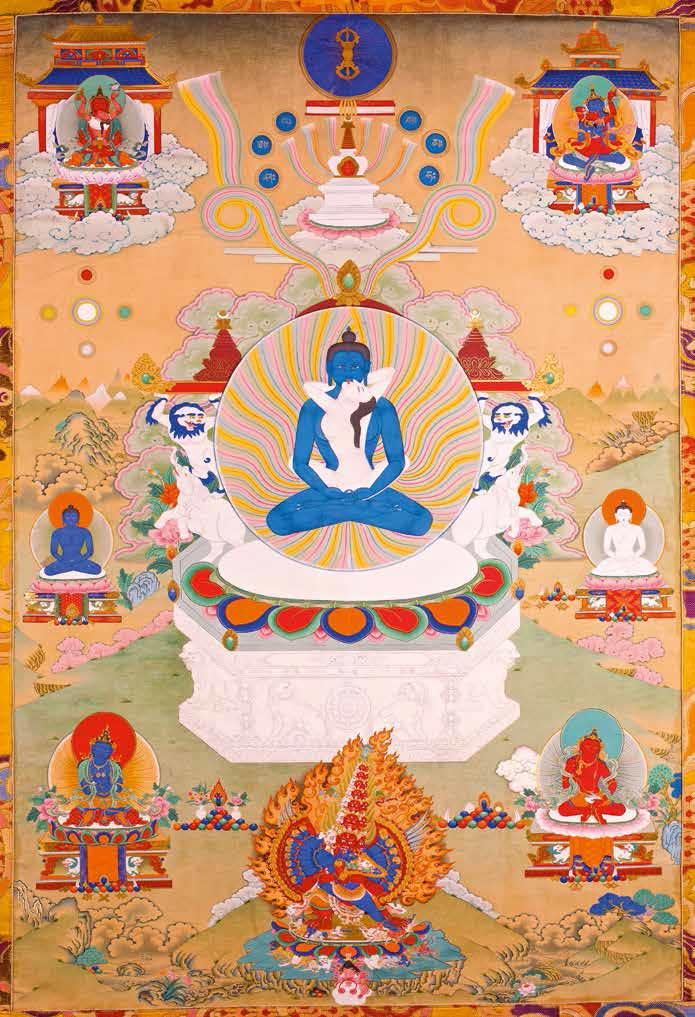 Description of the Dzogchen Thangka   The Tretyakov Gallery Magazine