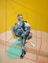 Фрэнсис БЭКОН. Этюд к портрету. 1971. © The Estate of Francis Bacon