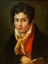 FYODOR BRUNI. Self-portrait. 1813–1816