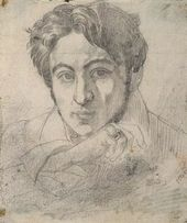 FYODOR BRUNI. Self-portrait. 1835