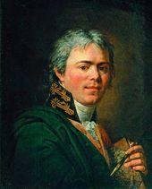 ANDREI IVANOV. Self-portrait. Mid-1800s