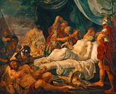 ANDREI IVANOV. The Death of Pelopidas. 1805-1806