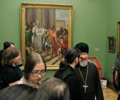 "Opening of the exhibition ""The Destiny of One Painting by Andrei Ivanov. Research and Restoration"""