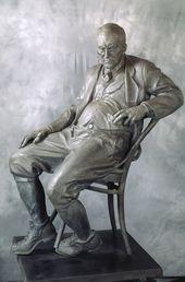 Monument to Vladimir Nabokov. 1999