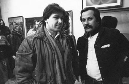 Alexander Rukavishnikov with Konstantin Khudyakov