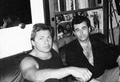Alexander Rukavishnikov with Alexei Shturmin. 1980