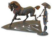VIKTOR TSIGAL. A Circus Horse. 1977