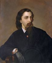 Alexander SEMENOV. Portrait of Andrei Lykhachev (From the original work by Pavel Römer). Second half of the 19th century