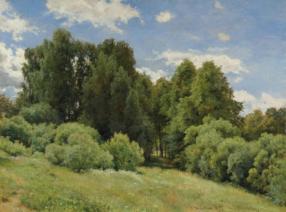 Ivan SHISHKIN. Forest Meadow. 1897