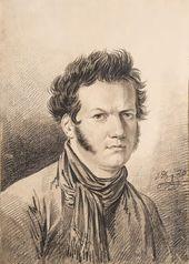 Alexander ORLOVSKY (1777-1832). Self-portrait. 1820