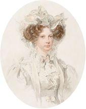 Pyotr SOKOLOV (1791-1848). Portrait of Grand Duchess Alexandra Fyodorovna. 1821 (?)