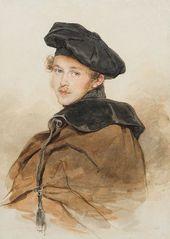 Pyotr SOKOLOV (1791-1848). Portrait of Prince Sergei Trubetskoy. 1830s